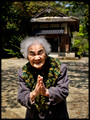 Ninety eight year old lady at Kyomizu temple