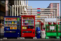 Pipes and vending machines