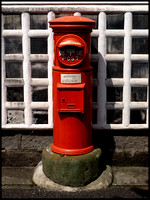 Meiji period postbox