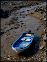 Boat, tide out