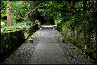 Temple pathway