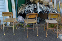 Chairs and pipes
