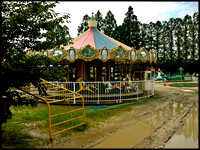 Carousel in the mud