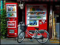 Coke machine bicycle