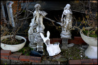 Discarded statues