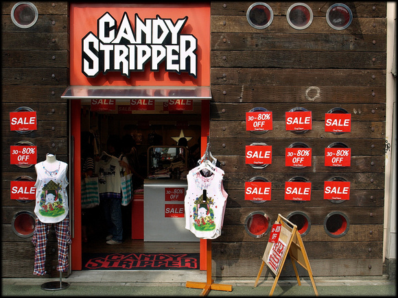 Candy Stripper clothes store