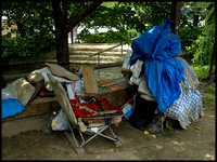 Homeless person's residence